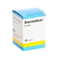 Клостилбегит, табл. 50 мг №10